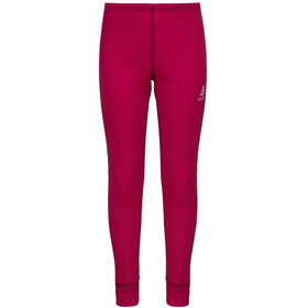 Odlo WARM Hose long Kinder cerise